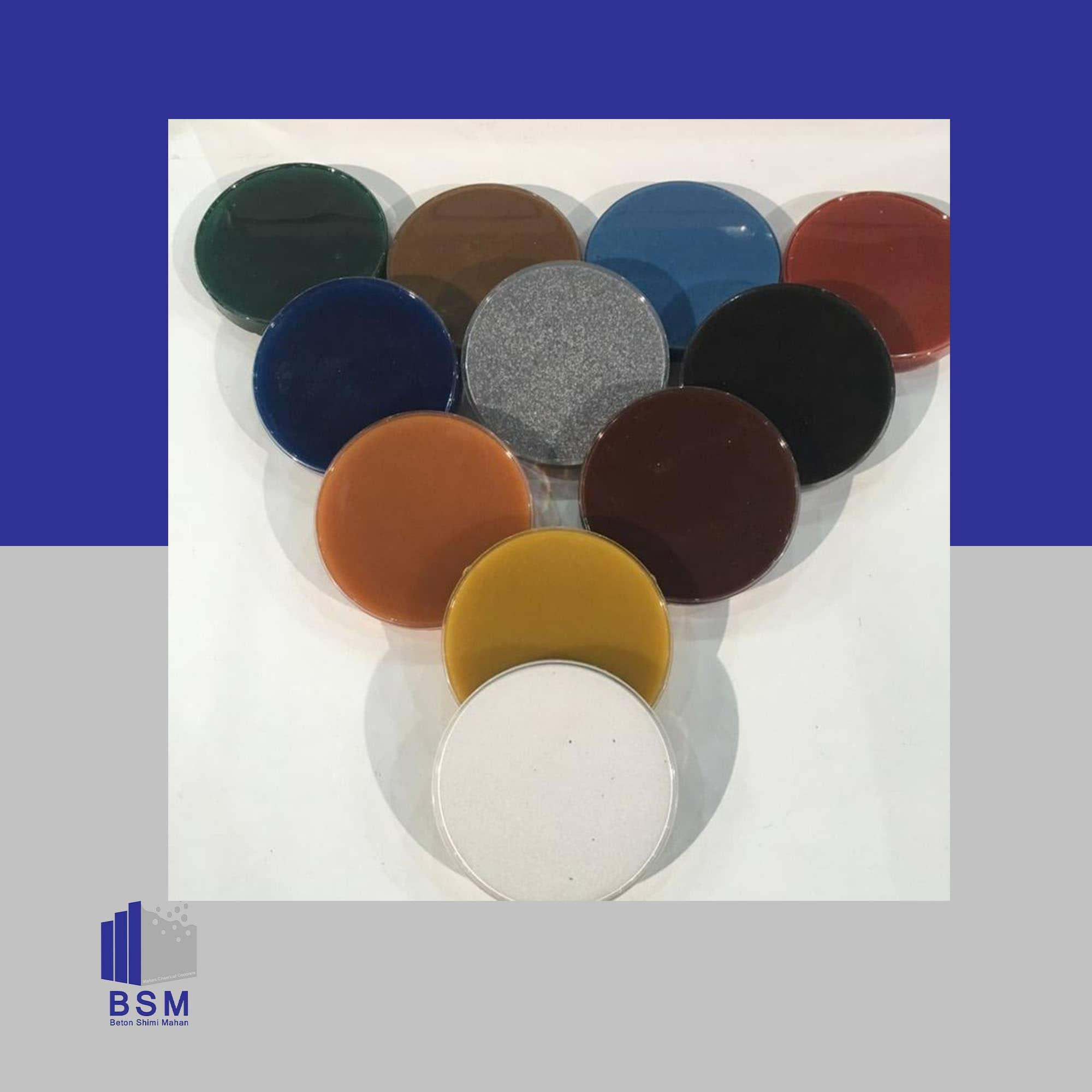 کف پوش اپوکسی BSM Floor Epoxy Gray-A1